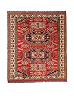 Navaei & Co. Alfombra Kazak Super Rojo/Multicolor 156 x 127 cm