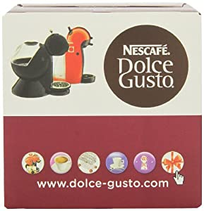 Nescafe Dolce Gusto for Nescafe Dolce Gusto Brewers, Espresso, 16 Count (Pack of 3)