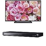 パナソニック 49V型 フルハイビジョン 液晶テレビ VIERA TH-49D305 + 500GB 2チューナー ブルーレイレコーダー 4Kアップコンバート対応 DIGA DMR-BRW520 セット