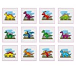 Dinosaur Temporary Tattoos - (Pack of...