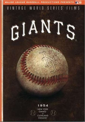 MLB Vintage World Series Films - New York Giants 1954 at Amazon.com