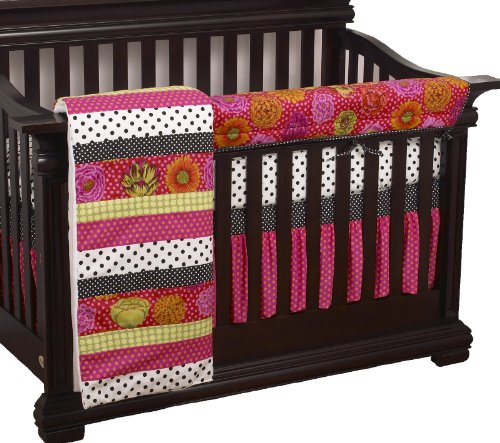 Cotton Tale Designs Tula Front Crib Rail Cover Up Set