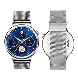 #10: J Stainless Steel Watch Strap Bracelet for Huawei Smart Watch Silver (WATCH NOT INCLUDED)