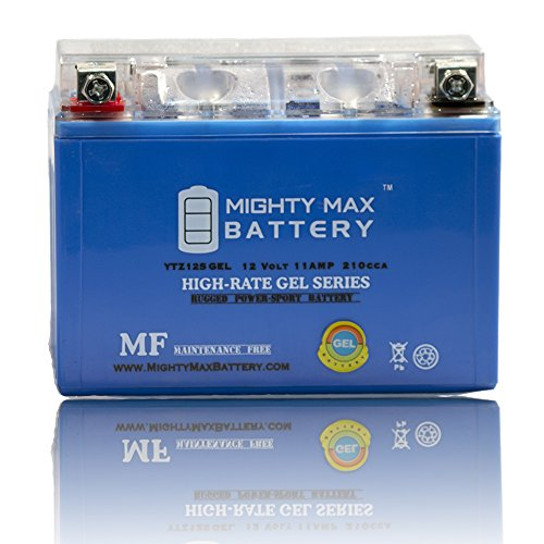 12V 11AH GEL Battery for Honda 750 VT750C,Shadow Spirit Aero 2007-2009 - Mighty Max Battery brand product (Honda Aero 750 compare prices)