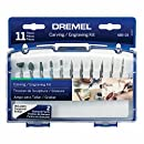 Dremel 689-01 11-Piece Rotary Tool Carving and Engraving Kit