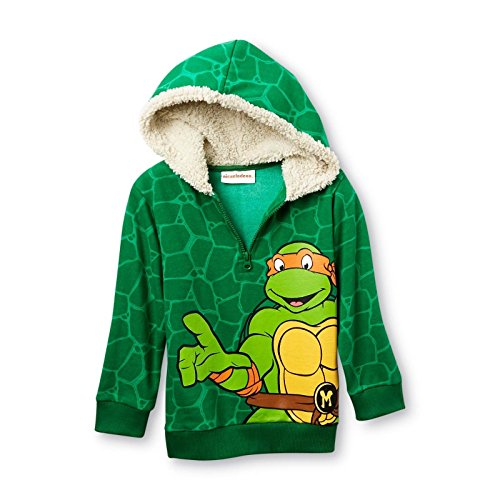 Teenage Mutant Ninja Turtles Little Boy Pull Over Hooded Sweat Shirt