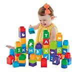 Fisher-Price Shakira First Steps Collection Stack'n Learn Alphabet Blocks [Amazon Exclusive]