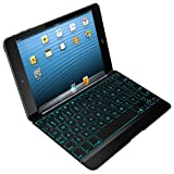 ZAGG Cover Case with Backlit Bluetooth Keyboard for Apple iPad mini-Black (ZKMHCBKLIT103)