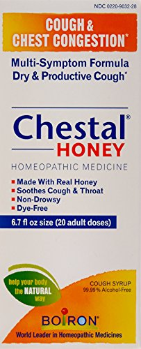 Chestal Adult Honey Cough and Chest Congestion Medicine, 6.7 Fluid Ounce