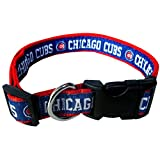 Pets First MLB CHICAGO CUBS Dog Collar, Large