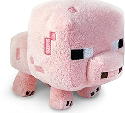 Minecraft Creeper Plush Toy Baby Pig Doll 6 Child Gift Collection by easybuyitnow