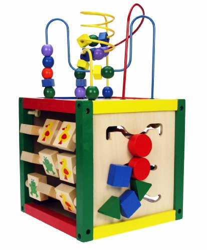 Wooden Toys Learning Activity Cube