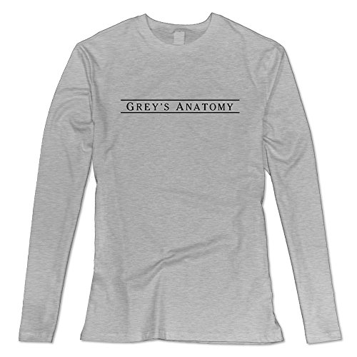 Women's Grey's Anatomy Long Sleeve Tee Size S Ash (Quote Merchandise compare prices)