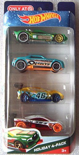 Hot Wheels 2014 Holiday 4-pack - 1