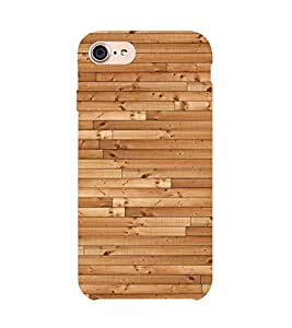 99Sublimation Small wood Stripes Background 3D Hard Polycarbonate Back Case Cover for Apple iPhone 7