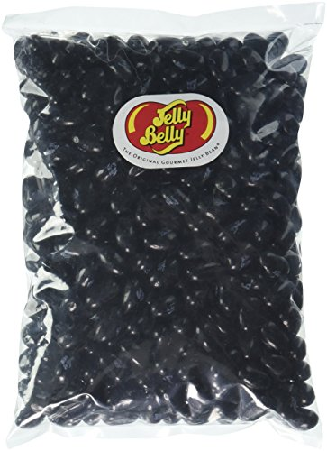 Jelly Belly Black Jelly Beans, Licorice, 1 Pound (Jelly Belly Black Licorice compare prices)