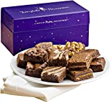 Fairytale Brownies Magic Morsel Dozen Gourmet Food Gift Basket Chocolate Box - 1.5 Inch x 1.5 Inch Bite-Size Brownies - 12 Pieces