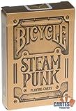 Jeu de 54 cartes : Bicycle Steampunk
