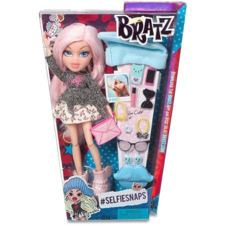 Bratz SelfieSnaps Doll, Cloe Comes with 13 accessories, including the iconic Bratz hairbrush in baby (Where To Buy Angel Wings)