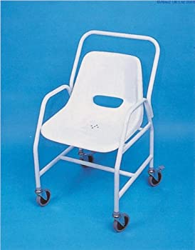 Mobile Shower Chair - Adjustable Height [Electronics] by Aids 4 Mobility