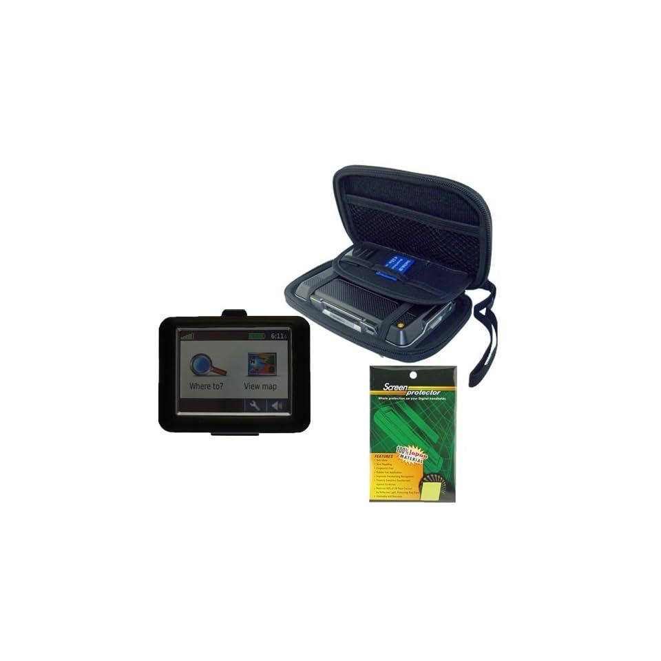 Garmin GPS Bundle Pack Combo Black Silicone Skin, Black EVA