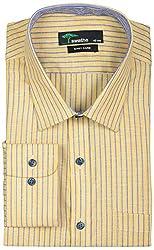 SWATHE Men's Formal Shirt (6122-1-42, Multi-Coloured)