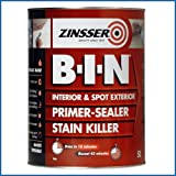 Zinsser B-I-N BIN Primer and Sealer 5 Litre [Misc.]