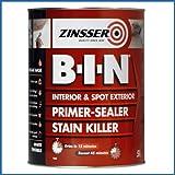 Zinsser ZN7020001A1 Bin Primer - Sealer - Stain Killer 5 Litres