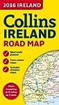 2016 Collins Ireland Road Map