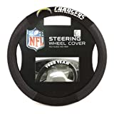 515y6oF3NCL. SL160  NFL San Diego Chargers Poly Suede Steering Wheel Cover