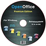 Software - Open Office Premium Edition f�r Windows 8-7-XP-Vista [Neue Version 2014]
