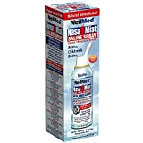 NasaMist Isotonic Saline Spray USA - for Allergy and Sinus Sufferers, 2.53 oz,(NeilMed)