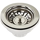 Blanco BBS-SS-B 3-1/2-Inch Basket Strainer (Stainless Steel Finish)