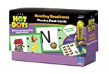 Learning Resources Set 1 Reading Readiness - Hot Dots Phonics Flash Cards