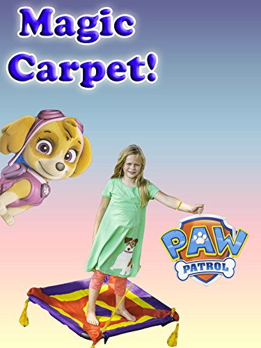 Assistant Paw Patrol and Shimmer and Shine Magical Carpet Ride