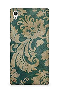 Amez designer printed 3d premium high quality back case cover for Sony Xperia Z4 (Vintage Pattern)