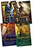 Michelle Moran 4 Books Collection Pack Set RRP: £36.96 (Nefertiti, The Heretic Queen, Cleopatra''s Daughter, Madame Tussaud) Michelle Moran