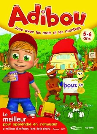 Adibou joue avec les mots et les nombres 5-6 ans 2010/2011