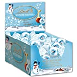 Lindt Lindor Truffles Holiday, Milk and White Snowman Changemakers, 25.2-Ounce, 60-count