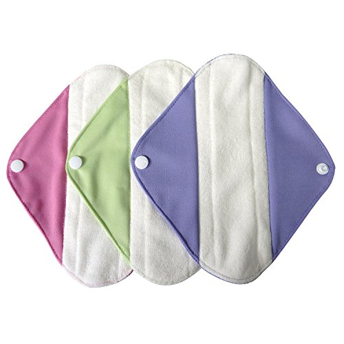 LBB Reusable Washable Menstrual Pads Small Size,3 pads pack (Mama Cloth Pads compare prices)
