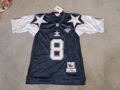 COWBOYS TROY AIKMAN #8 1994 REPLICA(56) THROWBACK JERSEY at Amazon.com