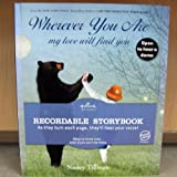 Hallmark Recordable Book KOB8090 Wherever You Are My Love Will Find You