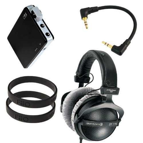 Beyerdynamic Dt-770 Pro 250 Ohm With Fiio E11 Professional Headphone Bundle