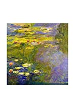 Especial Arte Lienzo The Waterlily-pond Multicolor