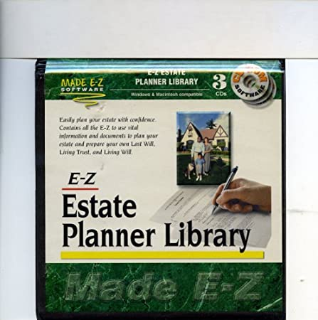 E-Z Estate Planner Library (3 CD-ROM Set)