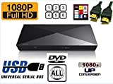MULTIREGION SONY BDPS1200 Smart Blu-ray Disc Player with (Multiregion DVD playback only) includes high quality HDMI lead