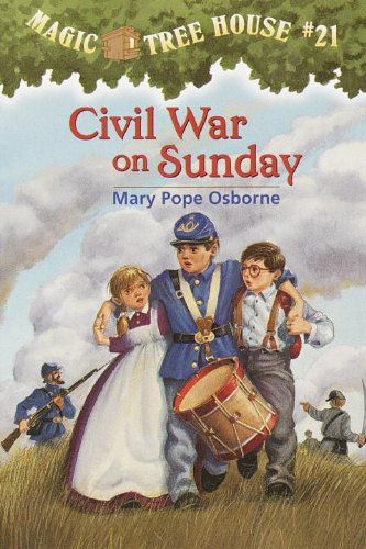 Magic Tree House #21: Civil War on Sunday (A Stepping Stone Book(TM)) (Magic Tree House (R))