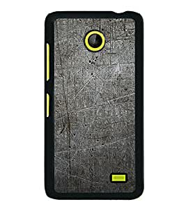 Grey Pattern 2D Hard Polycarbonate Designer Back Case Cover for Nokia X :: Nokia Normandy :: Nokia A110 :: Nokia X Dual SIM RM-980 with dual-SIM card slots