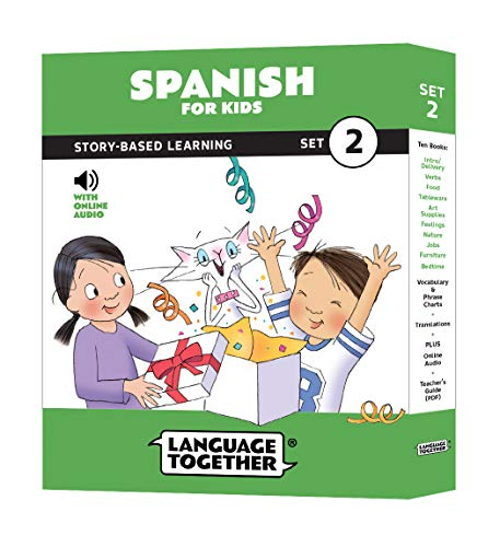 Spanish for Kids 10 Early Beginner Reader Books with Online Audio and English (Set 2) [Germaine Choe] (Tapa Blanda)