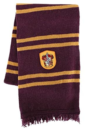Harry Potter Gryffindor House Scarf (Maroon & Gold)